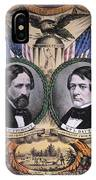 Presidential Campaign, 1856 IPhone Case