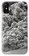 Pyroclastic Flow Descending The Flank IPhone Case
