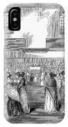 Quaker Meeting, 1843 IPhone Case