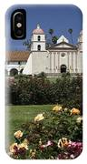 Queen Of The Spanish Missions IPhone Case