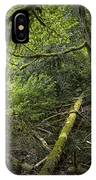 Rain Forest On Vancouver Island IPhone Case
