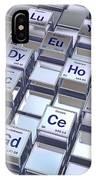 Rare Earth Metals, Conceptual Image IPhone Case