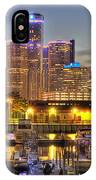 Renaissance Center Detroit Mi IPhone Case