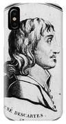 Rene Descartes, French Polymath IPhone Case