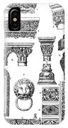 Romanesque Ornament IPhone Case