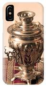 Russian Samovar IPhone Case