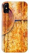 Rusty Gate Detail IPhone Case