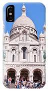 Sacre Coeur Basilica Paris France IPhone Case
