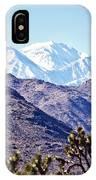 San Gorgonio Mountains IPhone Case