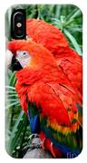 Scalet Macaw IPhone Case