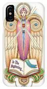 Scroll Angel - Ionica IPhone Case