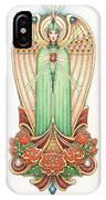 Scroll Angel - Roselind IPhone Case