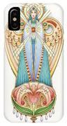 Scroll Angels - Lillium IPhone Case