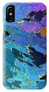 Sea Ice Core One Millimeter Thick IPhone Case