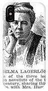 Selma Lagerlof (1858-1940) IPhone Case