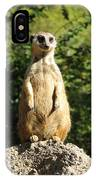 Sentinel Meerkat IPhone Case