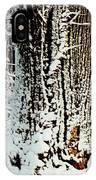 Snowy Woods IPhone Case