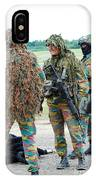Soldiers Of The Special Forces Group IPhone Case