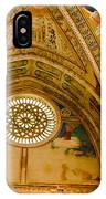 St Francis Basilica   Assisi Italy IPhone Case