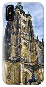 St Vitus Cathedral - Prague IPhone Case