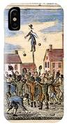 Stamp Act: Protest, 1765 IPhone Case