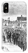 Striking Women, 1860 IPhone Case