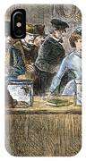 Suffrage: Woodhull Sisters IPhone Case