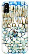 Tea Leaf, Light Micrograph IPhone Case