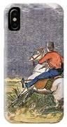 Texas Cowboys, C1850 IPhone Case