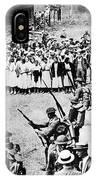 Textile Strike, 1934 IPhone Case