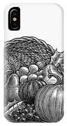 Thanksgiving: Cornucopia IPhone Case