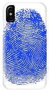 Thumbprint IPhone Case
