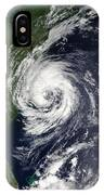Tropical Storm Gustav IPhone Case