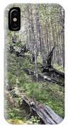 Tunguska Forest IPhone Case