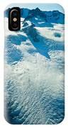 Upper Level Of Fox Glacier In New Zealand IPhone Case