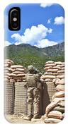 U.s. Army Soldier And An Afghan IPhone Case