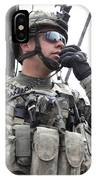 U.s. Army Soldier Communicates IPhone Case