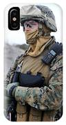 U.s. Marine Provides Security IPhone Case