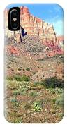 Utah Cactus Field IPhone Case