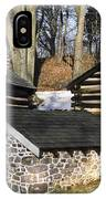 Valley Forge Winter IPhone Case