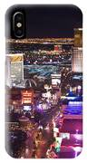 Vegas Strip At Night IPhone Case