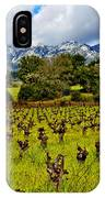 Vineyards And Mt St. Helena IPhone Case
