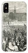 Washington: Abolition, 1866 IPhone Case