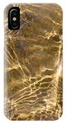 Water And Sand Ripples IPhone Case