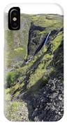 Waterfalls Of Table Mountain IPhone Case