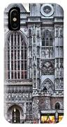 Westminster Abbey And  Victoria Tower IPhone Case