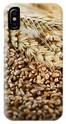 Wheat Ears And Grain IPhone Case