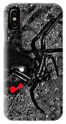 Wicked Widow - Selective Color IPhone Case
