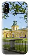 Wilanow Palace - Warsaw IPhone Case