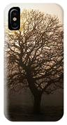 Winter Tree On A Frosty Morning, County IPhone Case